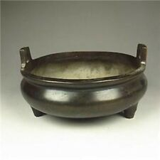 Chinese Bronze Incense Burner w Ming Dynasty XuanDe Mark NR/XY6