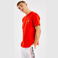 Nautica Mens Dandy T-shirt - Red - Medium