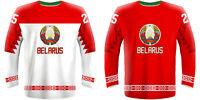 NEW 2020 Belarus Hockey Jersey GRABOVSKI PLATT VOROBEI PAVLOVICH SKABELKA NHL