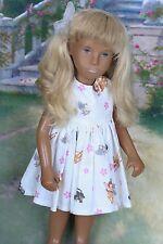 Vintage Sasha Doll Rare 1969 Sidepart Blonde Dressed
