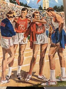Official Program from USA vs. USSR, 1962: The Greatest Track Meet of All Time