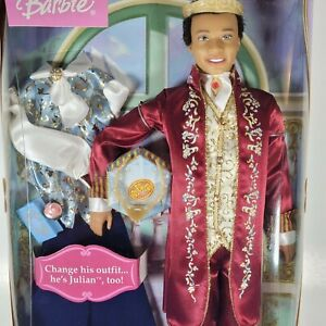 Mattel African American King Dominick Doll The Princess & the Pauper  C5775