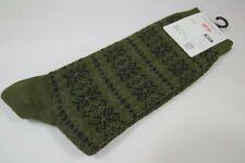 J W Anderson x Uniqlo Socks Olive Men UK 8-11 New / Price Clipped