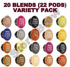 22 BACCELLI mescola (20), Dolce Gusto Capsule di Caffè Varietà Pack: CAPPUCCINO, Latte Macchiato