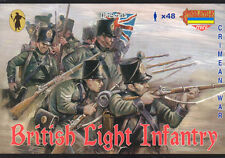 Strelets-R 1/72 M030 British Light Infantry (Crimean War) (48 Figures, 12 Poses)