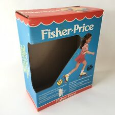 Vintage 1985 Fisher Price 185 Roller Skates BOX ONLY Empty
