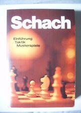 Schach - Einführung, Taktik, Musterspiele, Max Weiß