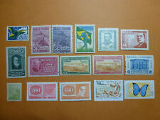 LOT 5376 TIMBRES STAMP POSTE AERIENNE ET DIVERS BRESIL ANNEE 1933-71