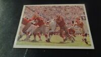 1966 Philadelphia Football #182 San Francisco 49ers Action Card VS LA Rams - EX