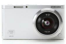 Samsung NX Mini Smart Camera with 9-27mm Lens (White)  + Flash