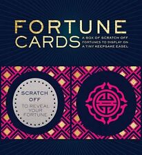 Fortune Card Deck w/ Display Easel Scratch Off Fortune Wiccan Pagan Metaphysical