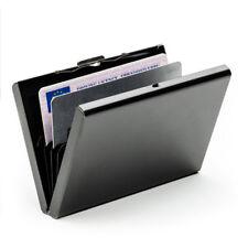 Anti-scan Metal Case Slim RFID Blocking Wallet Clip ID Credit Card Holder Men