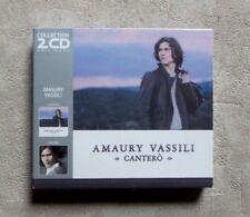 """CD AUDIO MUSIQUE / COFFRET AMAURY VASSILI """"CANTERO / VINCIRO"""" 2X CD 2012 NEUF"""