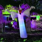 12 Foot High Halloween Inflatable Narrow face Ghost Blow Up Yard Decoration