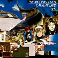 MOODY BLUES Caught Live + 5 BANNER HUGE 4X4 Ft Fabric Poster Tapestry album art