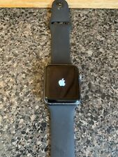 Apple Watch Series 42mm Space Gray Aluminium 7000 Series Black Band