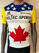 c82dd6a5e Concorde Veltec Sidi Rudy Project jersey Made in Italy by Ultima L large NOS