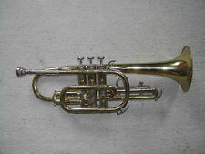 """Cornet en siB  """"BACH BUNDY"""" + embouchure Vincent Bach Corp 8C"""