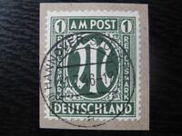 GERMANY Mi. #35 scarce used AMG stamp! CV $660.00