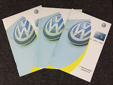 VW VOLKSWAGEN SERVICE BOOK NEW GENUINE ALL PETROL AND DIESEL tdi tsi