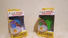 New Yolk Magic™ Egg Separator - As Seen On TV - 1 Blue and Green
