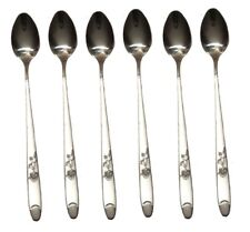 12 x Stainless Steel Stylish Long Handle Latte Ice Cream Sundae Coffee Spoon