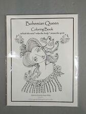 Bohemian Queen Coloring Book