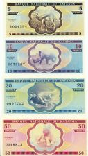 Katanga set 7 banknotes 2016 UNC (private issue)