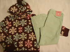 GYMBOREE 5T Corduroy Pant S 5 6 Hoodie Winter Ballerina Fleece Outfit NWT