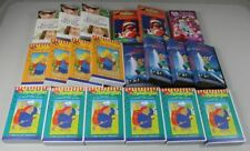 20x Good Hold VHS Video Cassette Paddington+Sesame Street+Einstein / S259