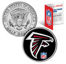 ATLANTA FALCONS  NFL JFK Kennedy Half Dollar US Coin  *Officially Licensed*