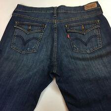 Levi's 515 Bootcut Women Flap Pockets Medium Washed Jeans 10M W30 L32 Inseam 31