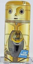 C-3PO LCD Watch The Force Awakens Star Wars Collectible Tin     ca134