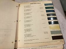 1948   BUICK   PAINT CHIPS