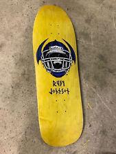 Old School Blind Rudy Johnson Jock Skull Reissue Skateboard Deck Screened