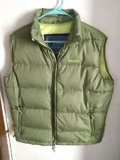 ABERCROMBIE AND FITCH- Mens Size Large Down Feather Quilted Puffer Vest Green