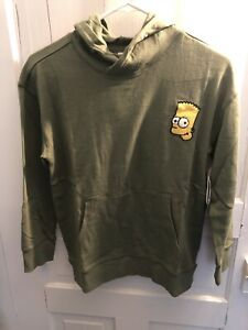 Bart Simpson Old Navy Hoodie Size L NWT