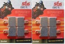 Juego pastillas de freno sbs 838HS kawasaki Z 1000 año 2007-2009 ( 2 discos )