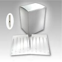 Pack OF 10 Sterile Body Piercing Needles 12,14,15,16,18,20G Navel Ear Nose Lip