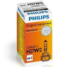 1x Philips H27W/2 27W Luz de niebla Standard Halógeno 12060C1