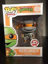 TMNT Ninja Turtles Funko Pop! Michelangelo Coast City Styles Exclusive Metallic