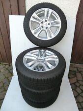 5,5 - 6 mm Audi Mercedes Winterreifen 225/55 R17 97H Continental 7.5 x17 H2 ET35