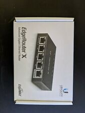 Ubiquiti Networks ER-X EdgeRouter X 5-Port Gigabit Wired Router