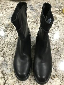 Womens Timberland Black Ankle Boots  9.5 NWOB  Defender Repellent System