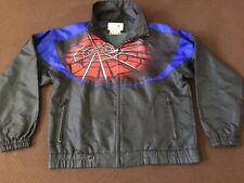 UNISEX SPYDER SOFTSHELL TRACK TOP JACKET FULL ZIP L LONG SLEEVE BLACK Spider Web