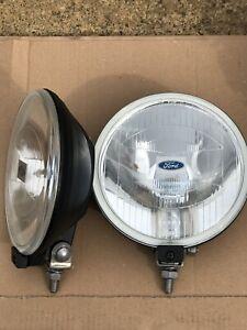 PAIR  Hella Spot lights suit Ford XR2 XR3 XR3i RS1600i ESCORT