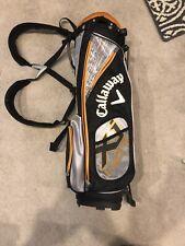Callaway xi hot youth golf bag Orange Black And Silver