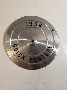 Original 1956 Buick Special Century Center Grill Medallion Qty 1