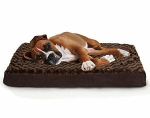 Improvements Dog Bed Furhaven Orthopedic K9 Bed Water Resistant Crate