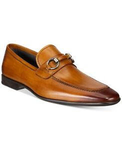 Massimo Emporio By Magnanni 248444 Mens Leather Loafer Cognac Size 8 Medium